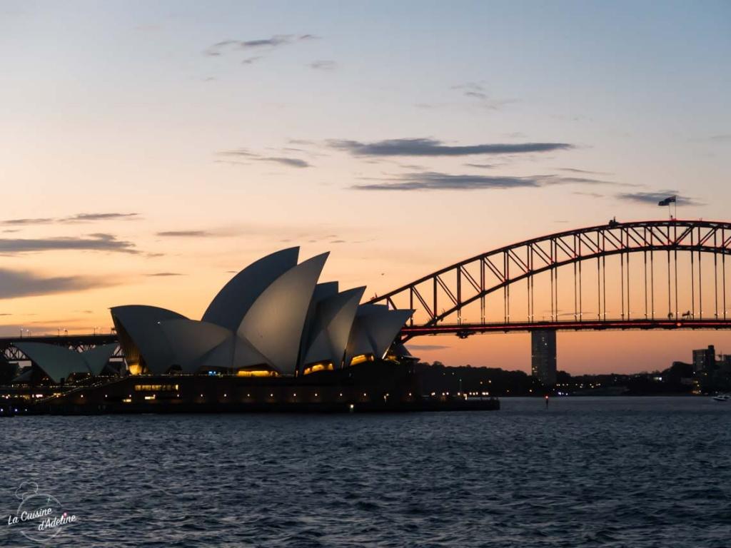 Coucher de soleil Opéra Sydney Best place