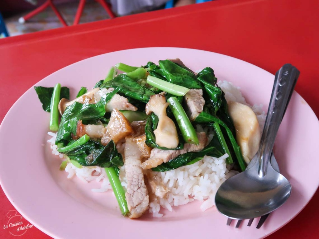 Crispy pork Thailande