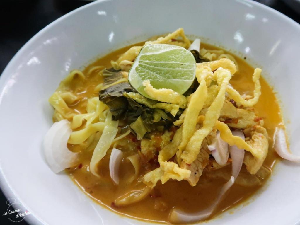 Khao Soi recette traditionnelle Thailande