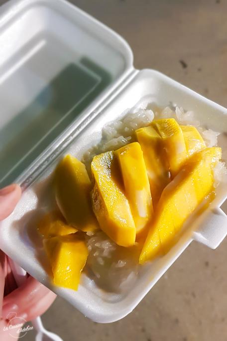 Mango Sticky Rice Thailande