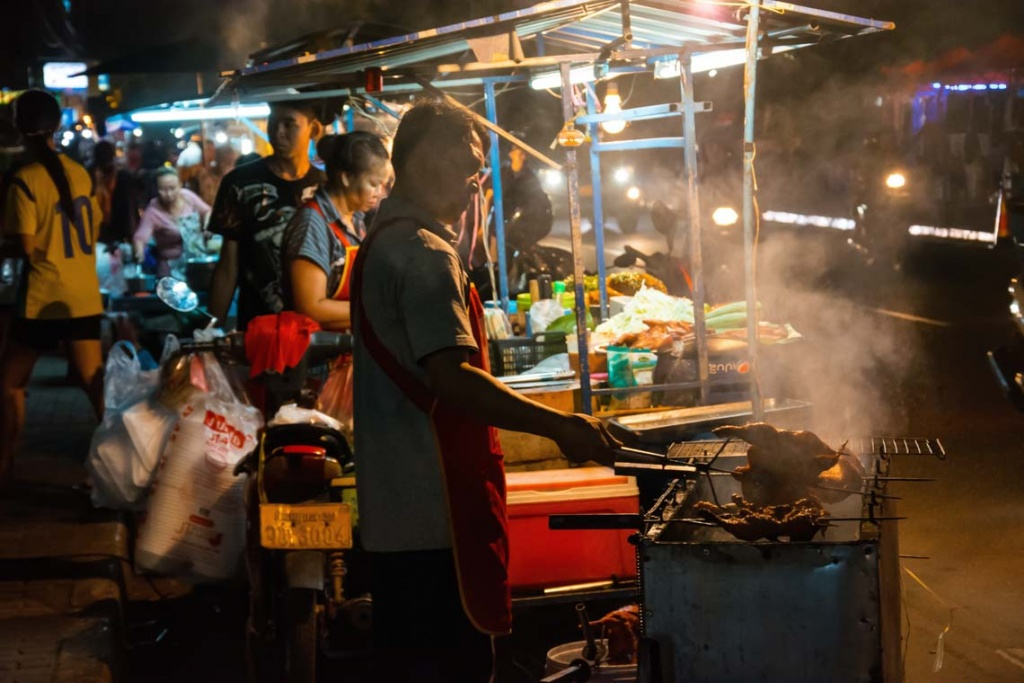 Night Market Thailande