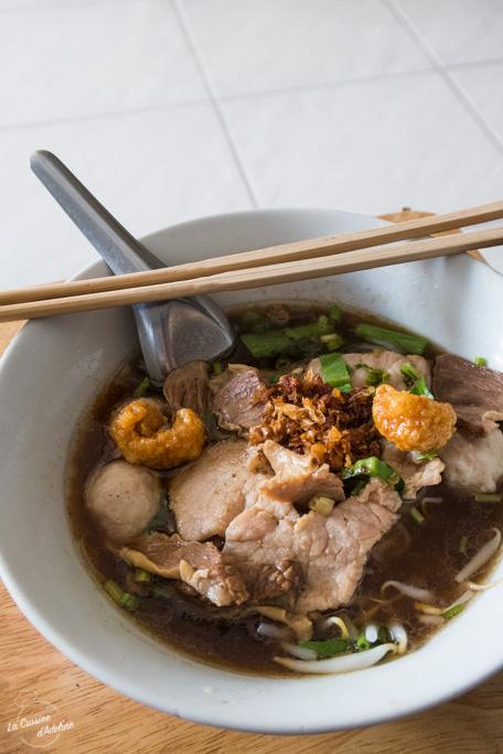 Noodle soup Thailande