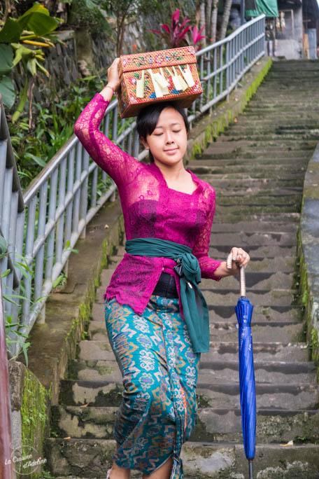 Offrande Bali Indonésie