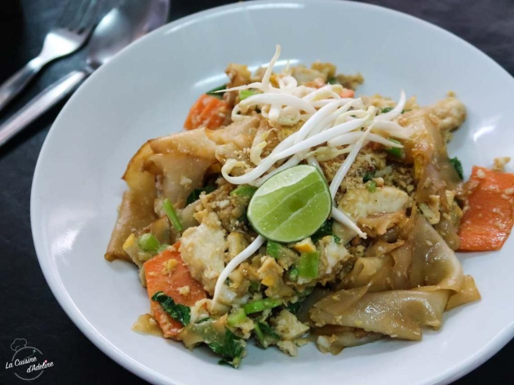 Pad See Ew - Stir Fried Noodle recette facile Thailande