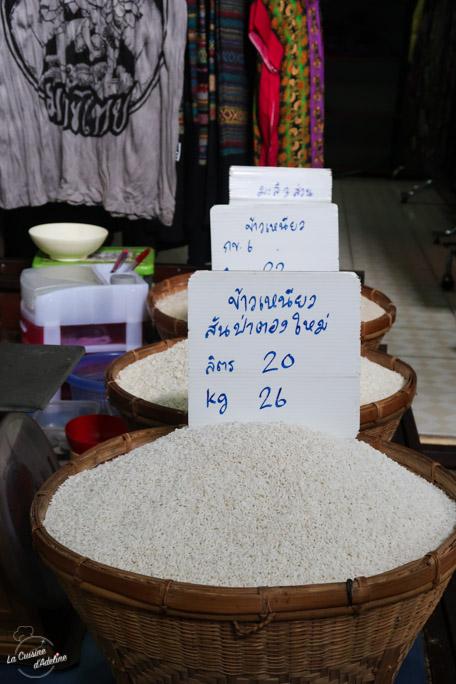 Sticky rice - Cours de cuisine Chiang Mai