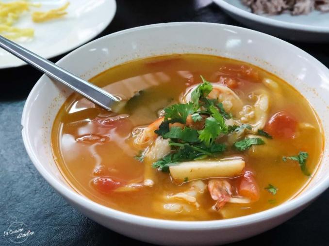 Tom Yum Soup recette Thailande