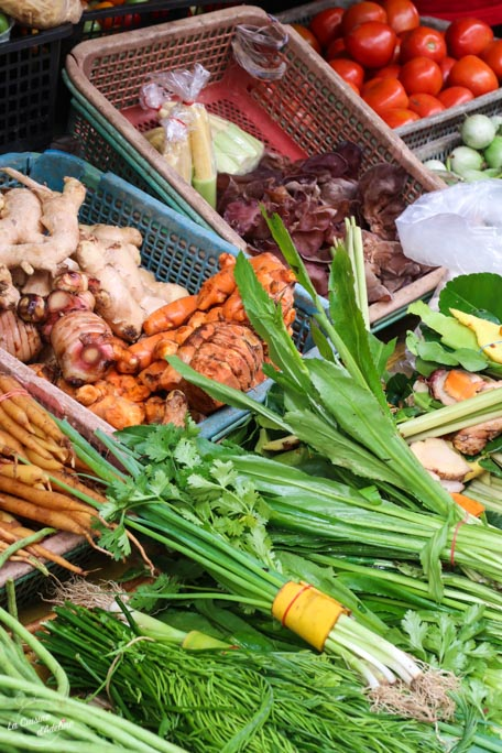 Tour au marché - Cours de cuisine Chiang Mai