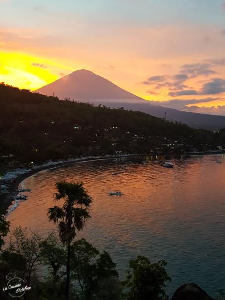 Coucher de soleil Bali Amed