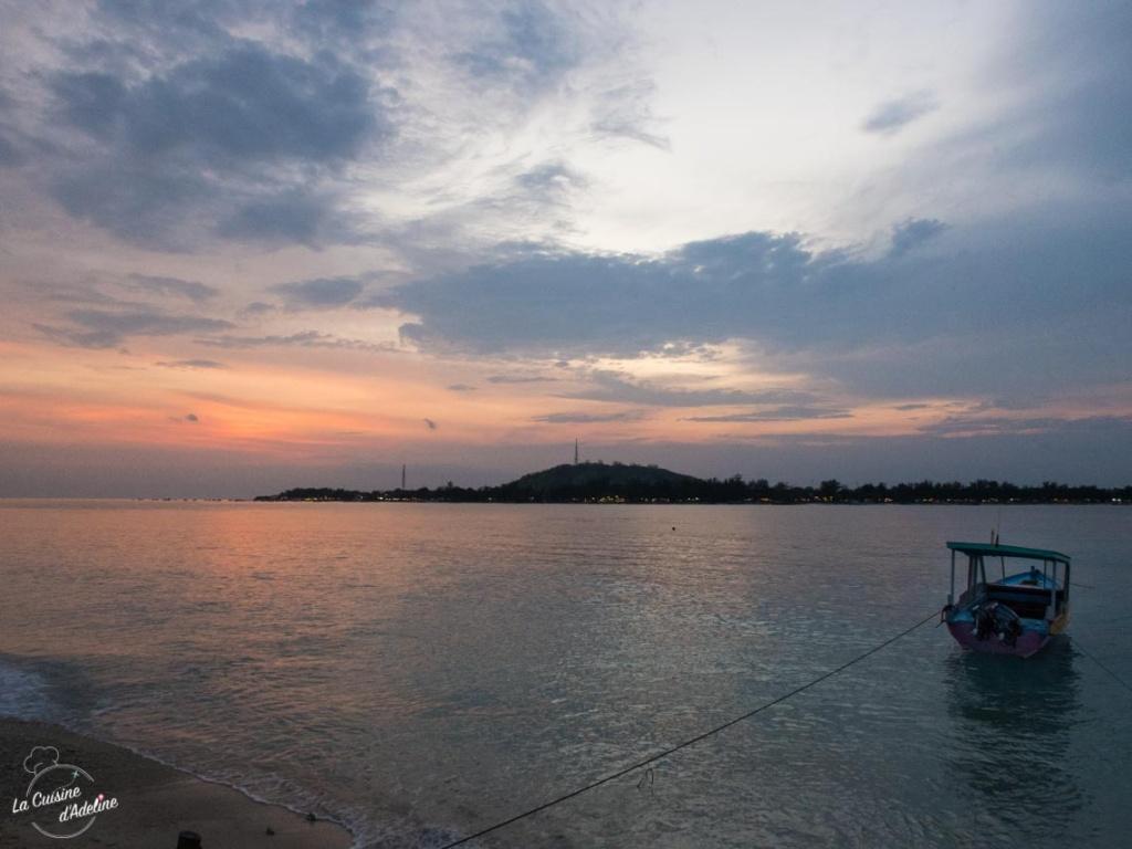 Coucher de soleil Gili Meno Lombok