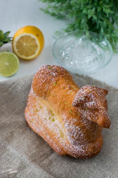 Lammele Osterlammele au citron recette Paques