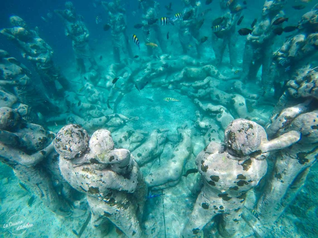 Statues sous l'eau Bali - Nest