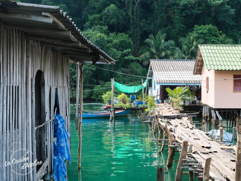 Village flottant Koh Kood Thaïlande