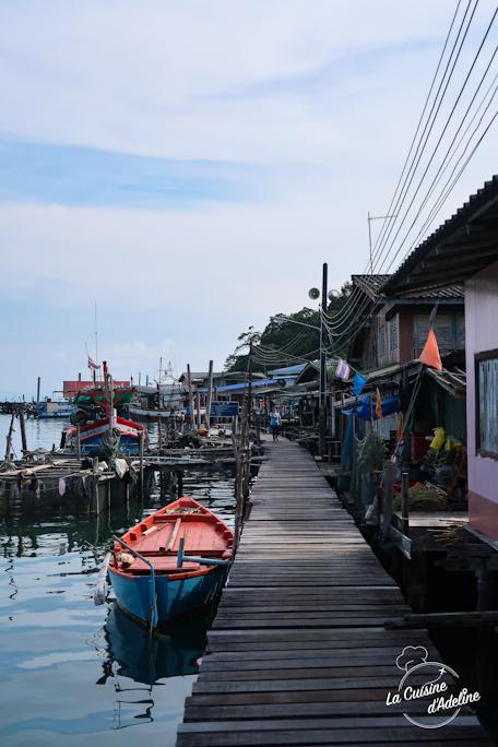 Village flottant Koh Kood