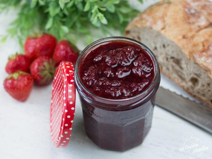 Confiture de fraises maison recette facile sans sterilisateur
