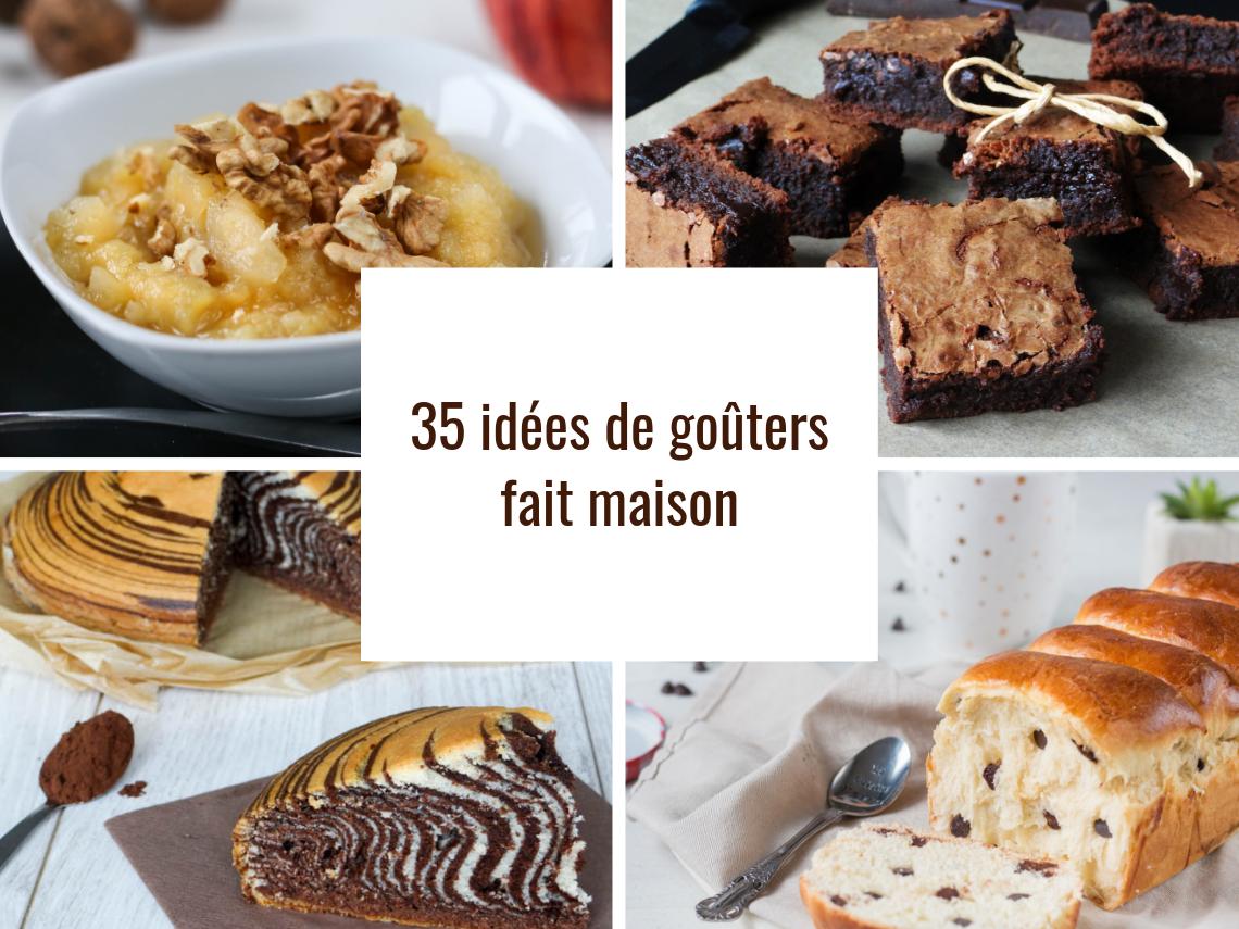 35 Recettes De Gouters Fait Maison La Cuisine D Adeline