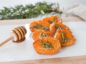 Abricots rôtis au romarin recette facile