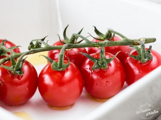 Tomates cerises rôties recette rapide au four