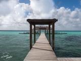 Bacalar laguna eau turquoise