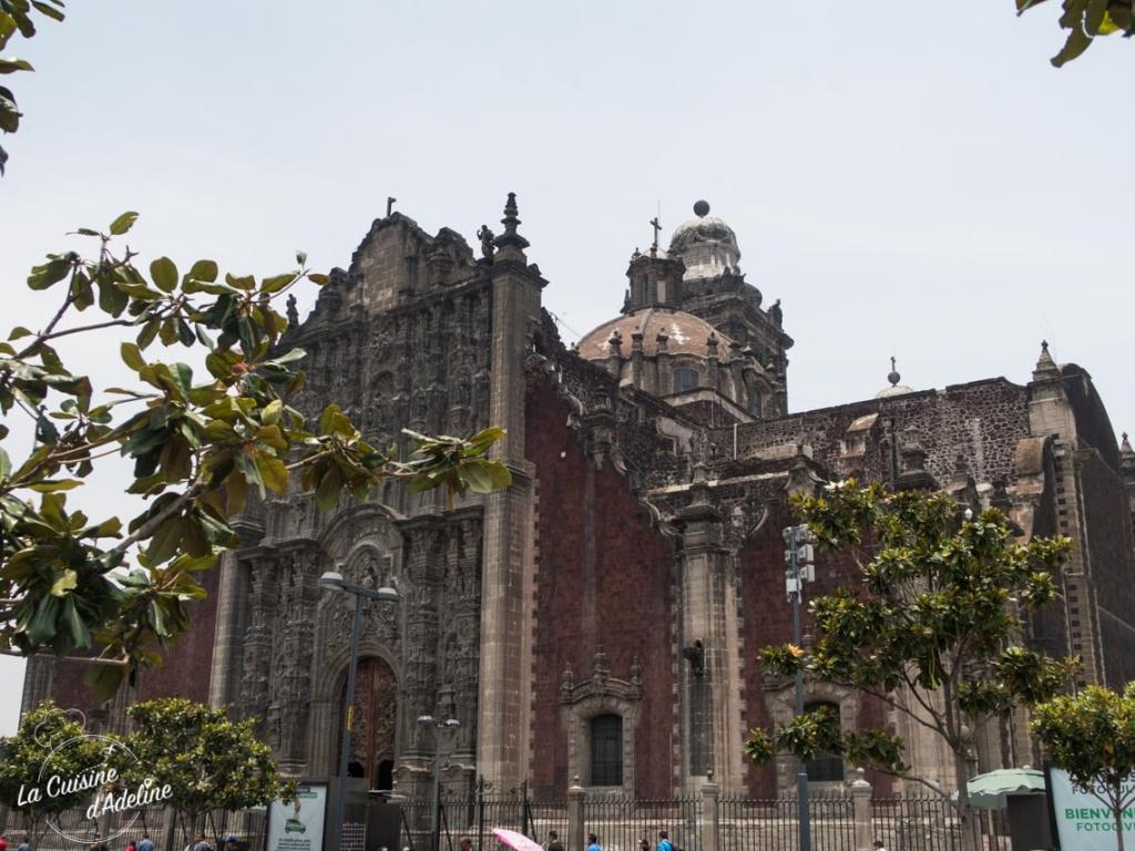 Cathedrale Metropolitana Mexico City Mexique