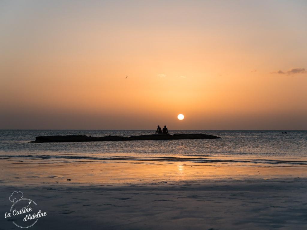 Coucher de soleil Holbox Punta Coco