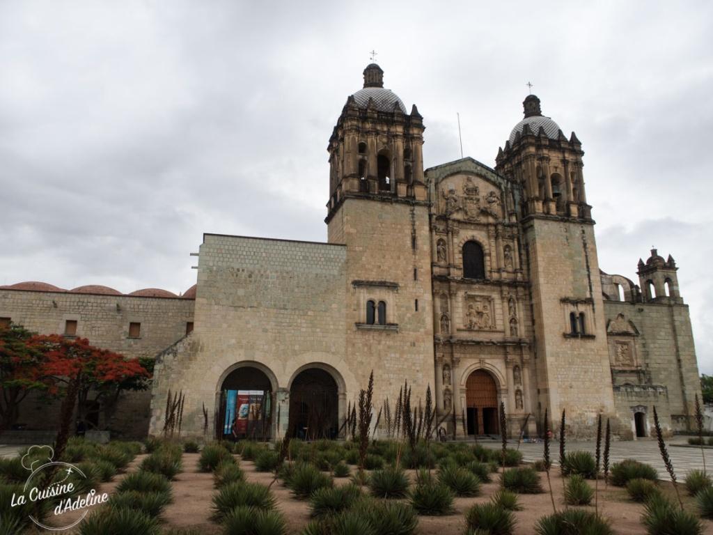 Couvent Templo Santo Domingo Oaxaca Mexique