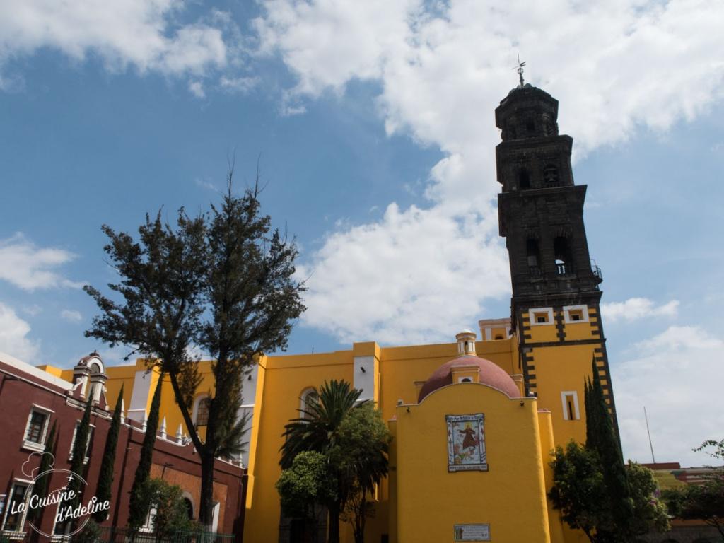 Eglise San Francisco Puebla Mexique