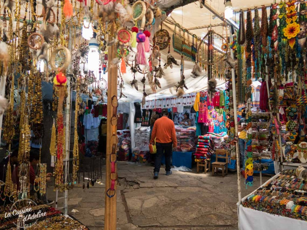 Feria de artesania San Cristobal de Las Casas Mexique