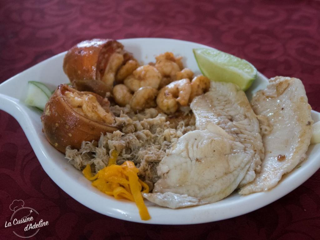 Fruits de mer et poisson Playa Larga Cuba