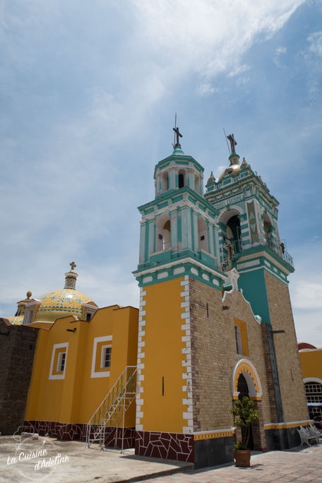 Iglesia San Rafael Con Comac Tonanzintla proche Puebla Mexique