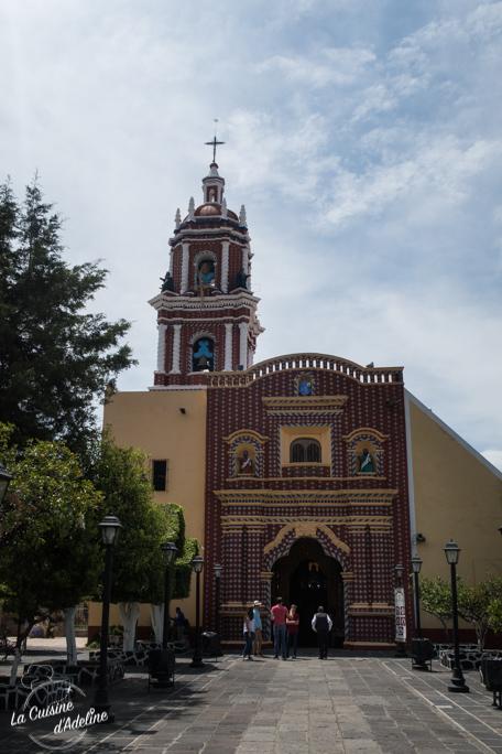 Iglesia Santa Maria Tonanzintla proche Puebla Mexique