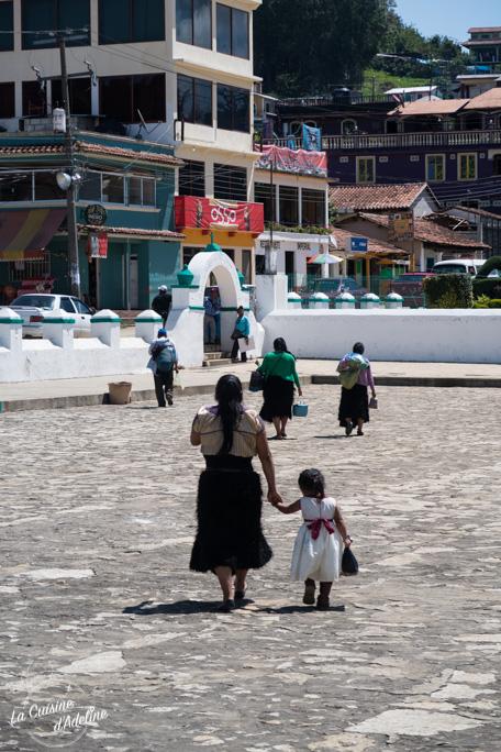 Minorité San Juan de Chamula - Mexique