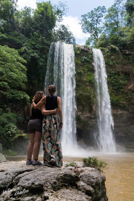 Misol Ha cascade Pallenque Mexique