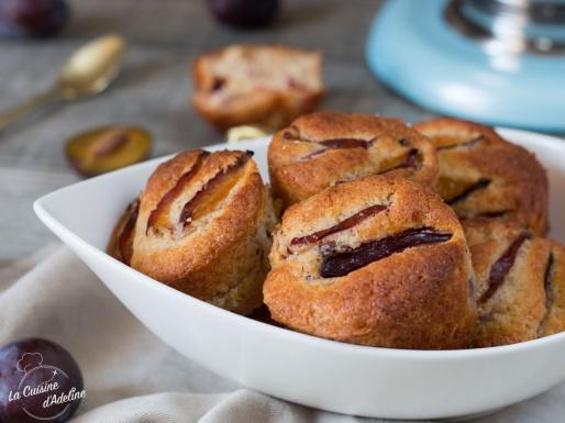Muffins aux quetsches recette de saison