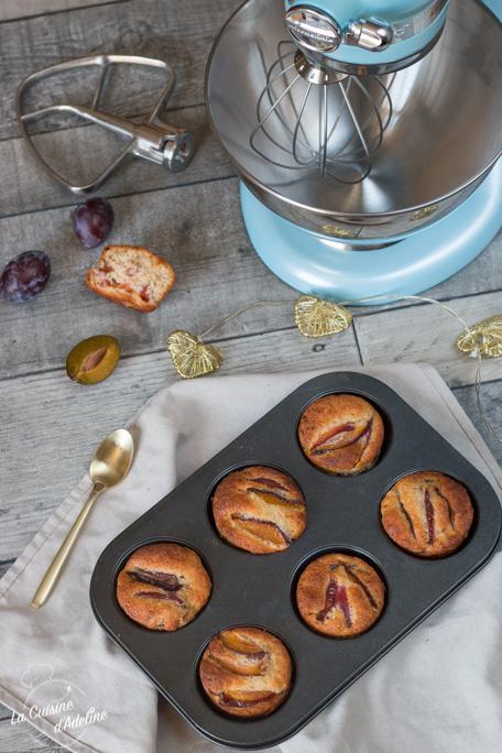 Muffins aux quetsches recette facile et rapide