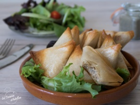 Samoussas au thon recette du monde