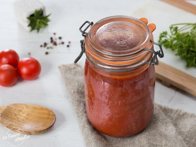 Sauce tomate maison en conserve recette