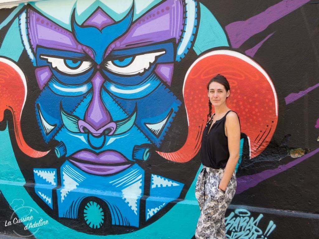 Street art Mexico City Mexique