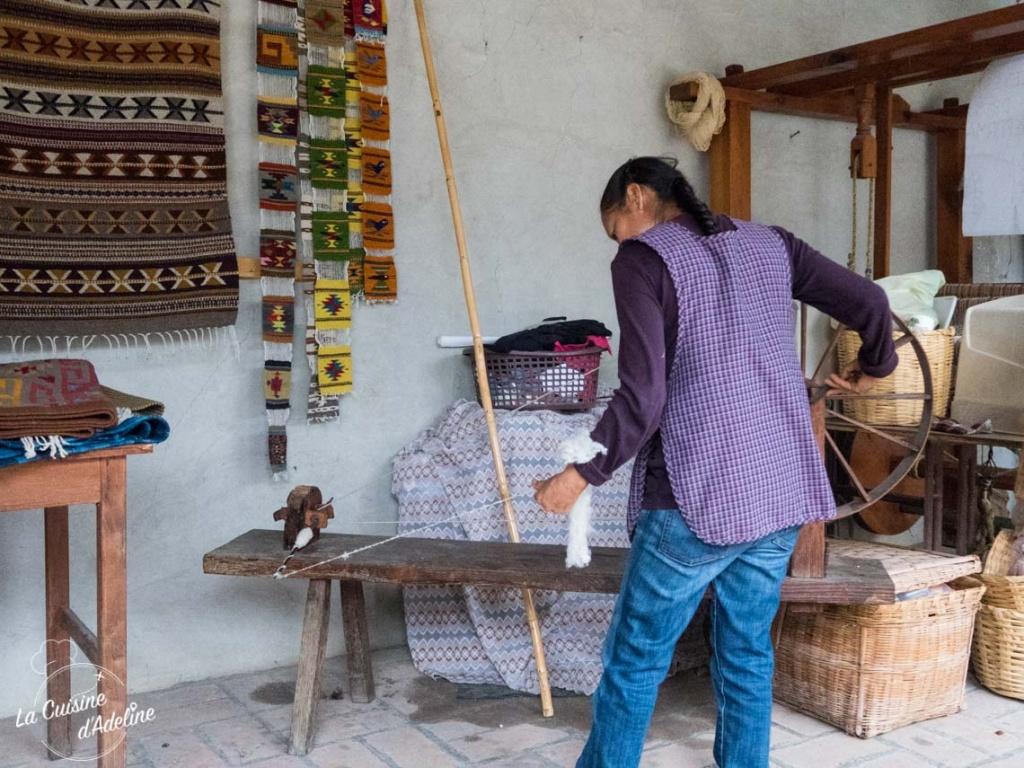 Teotitlan del valle - Mexique - Village tisserand