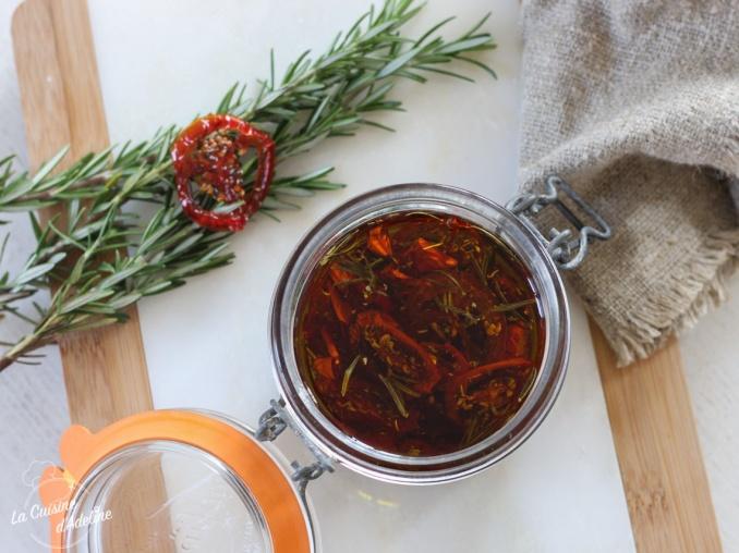 Tomate séchées recette conserve