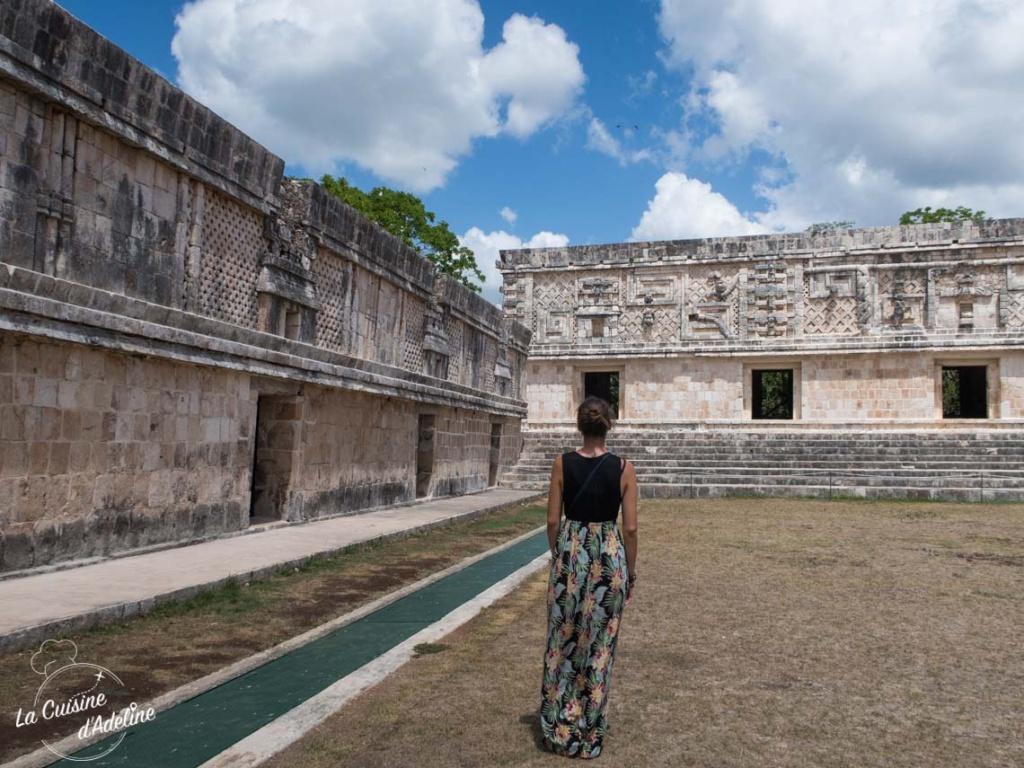 Visite site Maya Uxmal