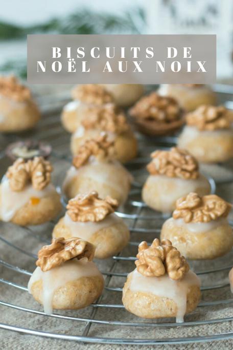 Biscuits aux noix Pinterest