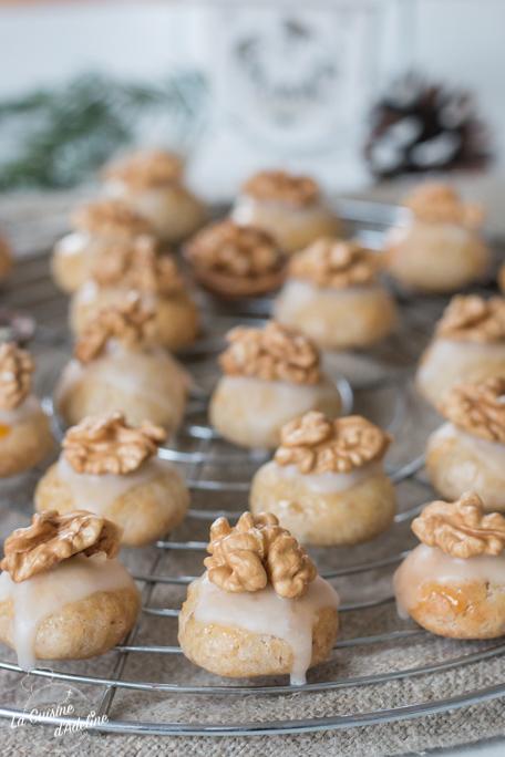 Biscuits de Noël aux noix recette