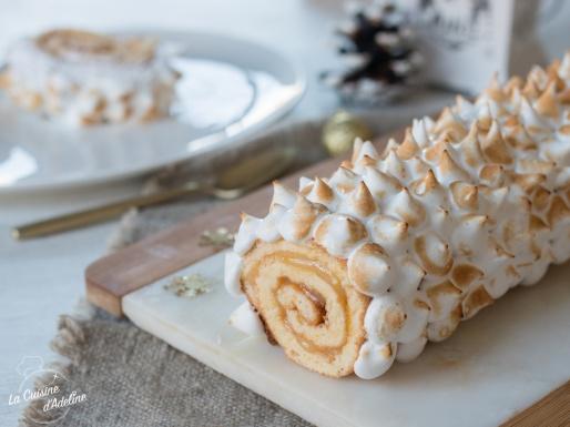 Bûche citron meringuée recette pour Noël