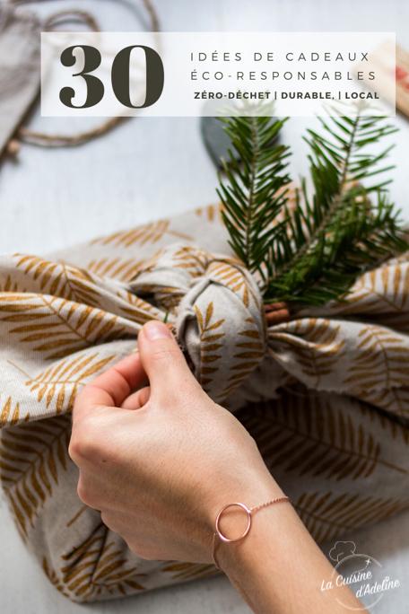 Idées de cadeaux éco responsables zero dechet durable Pinterest