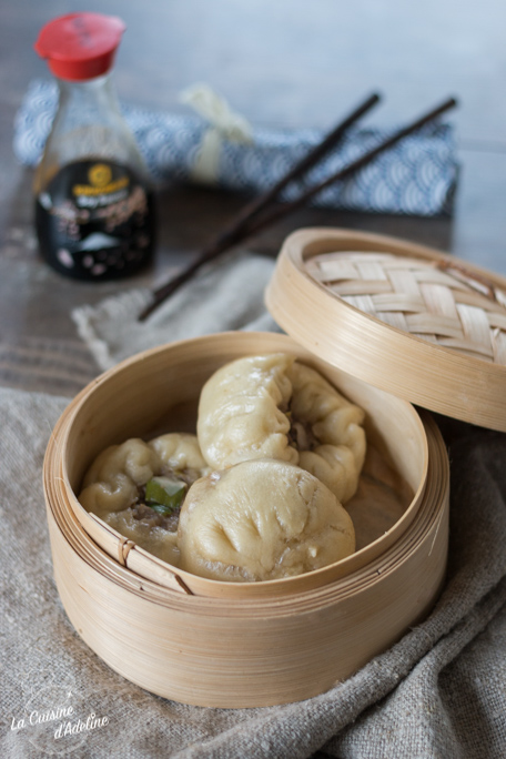 Baozi brioches chinoises farcies recette traditionnelle