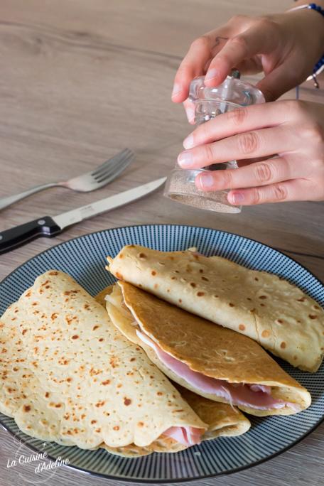 Crêpes à la farine de pois chiches recette facile sans gluten