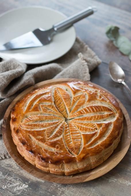 Galette des rois frangipane et pistache recette