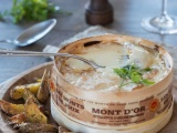 Mont d'Or recette boite chaude au four