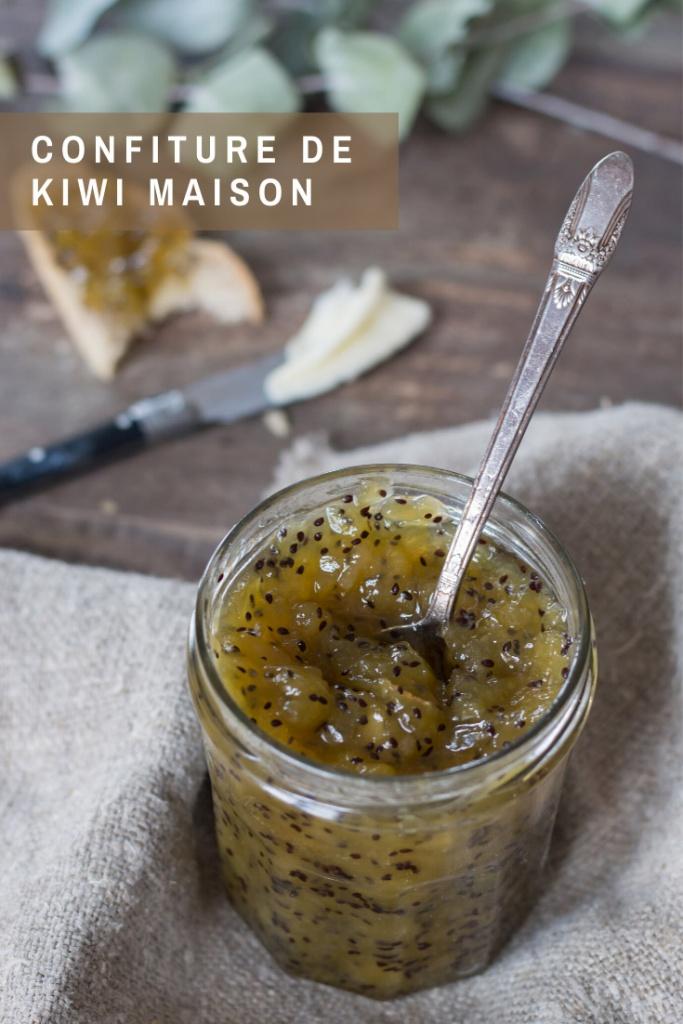Confiture de kiwi recette Pinterest
