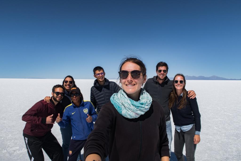 Excursion au Salar d'Uyuni groupe